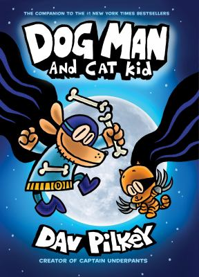 Dog Man and Cat Kid Book cover