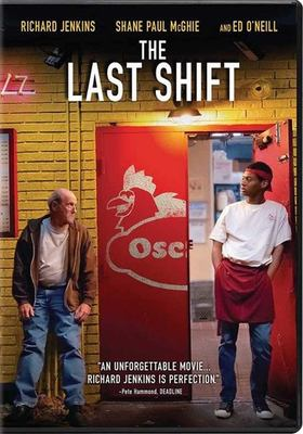 The last shift Book cover