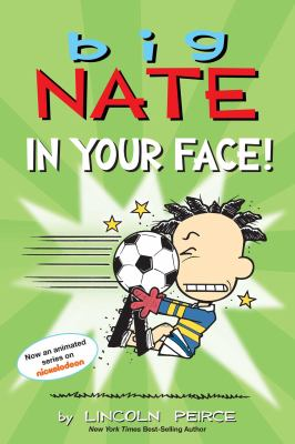 Big Nate. In your face! Book cover