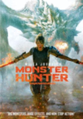 Monster hunter Book cover