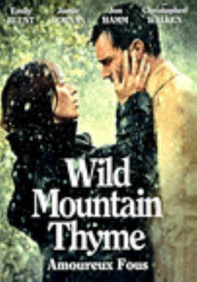 Wild mountain thyme Book cover