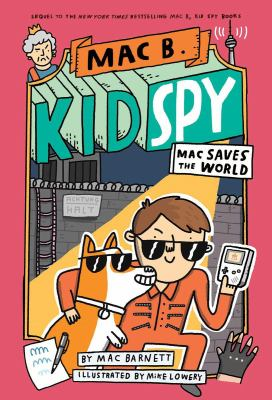Mac saves the world. 6 Book cover
