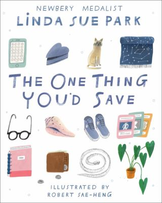 The one thing you'd save Book cover