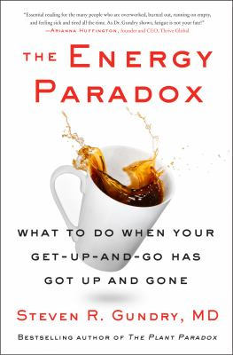 The energy paradox : what to do when your get-up-and-go has got up and gone Book cover