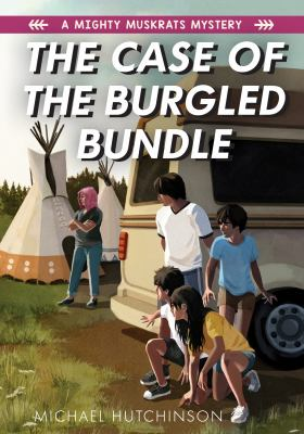The case of the burgled bundle Book cover