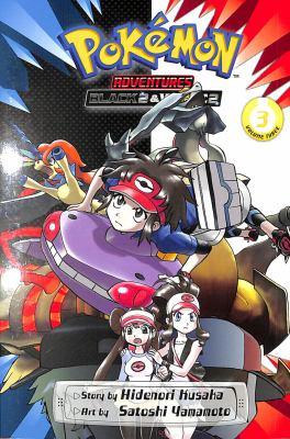 Pokémon adventures. Volume 3 Black 2 & White 2 Book cover