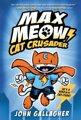 Cat crusader. 1 Book cover