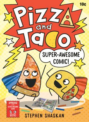 Super-awesome comic! Book cover