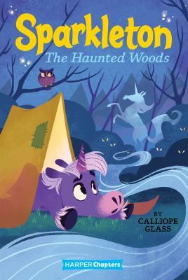 The haunted woods. 5 Book cover
