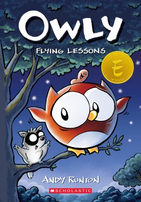 Owly. 3 Flying lessons Book cover