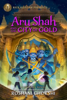 Aru Shah and the city of gold Book cover