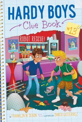 Robot rescue! Book cover