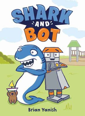 Shark and Bot. 1 Book cover