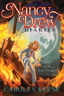 Danger at the Iron Dragon. 21 Book cover