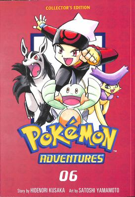 Pokémon adventures collector's edition. 6. 06 Book cover
