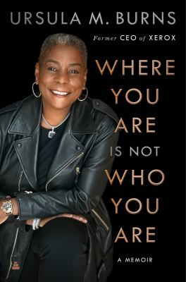 Where you are is not who you are : a memoir Book cover