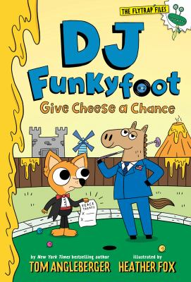 Give cheese a chance Book cover