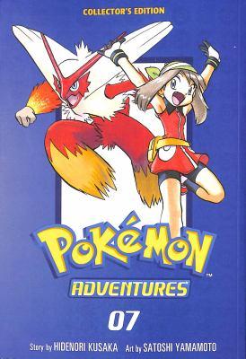 Pokémon adventures collector's edition. 7. 07 Book cover