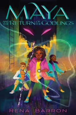 Maya and the return of the godlings Book cover