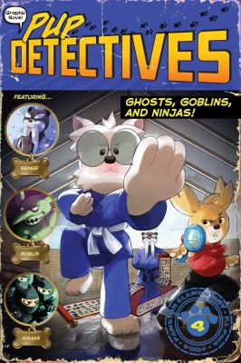Ghosts, goblins, and ninjas! 4 Book cover