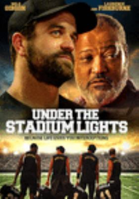 Under the stadium lights Book cover
